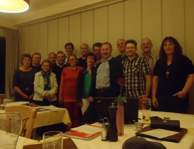 Gruppenbild der Anwesenden bei der Gründung des lokalen Bündnis am 7. Oktober in MOD